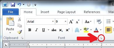 Font Group