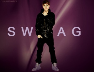 People tell me that Justin Bieber has swag. (graphic credit: from somewhere on the Interwebs)