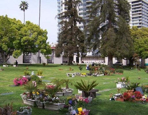 Westwood Village Memorial Park Cemetery.  (Photo credit: Oleg Alexandrov)