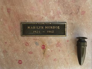 Marilyn Monroe's niche in the mausoleum (Photo credit: Tom Laemmel)